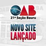 Novo site OAB Bauru
