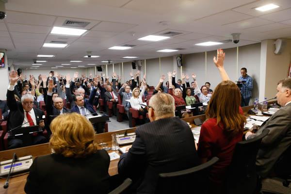 Reunião do Conselho Estadual da OAB-SP em 04/03/2016 - foto Cristovão Bernardo