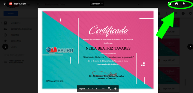 Oab Bauru Certificados